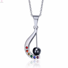 Guangzhou Fashion Piano Lover Gifts Crystal Pendants Jewelry